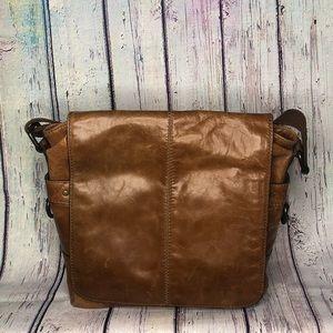 Fossil | Jackson messenger bag, brown